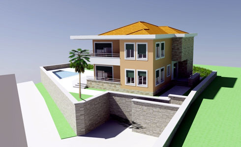 3D views of buildings - Forming Ltd. for project management